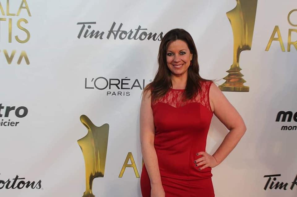 Gala Artis Isabelle Juneau show couverture tapis rouge